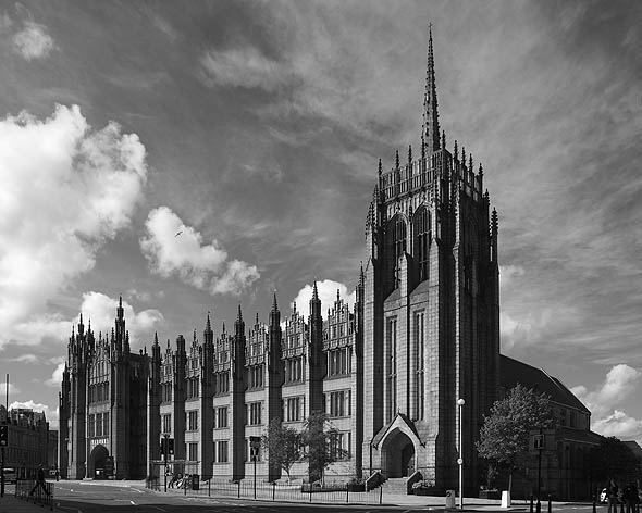 1905 &#8211; Marischal College, Aberdeen University, Scotland