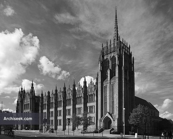 1905 – Marischal College, Aberdeen University, Scotland