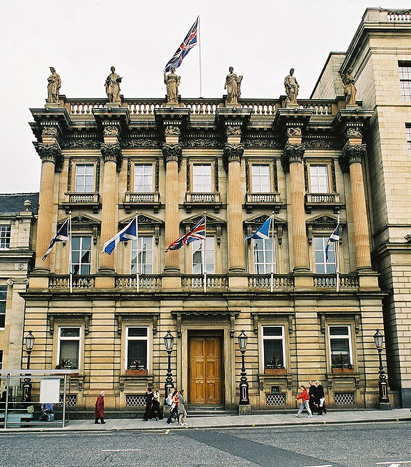1852 – Bank of Scotland, St. Andrew Square, Edinburgh