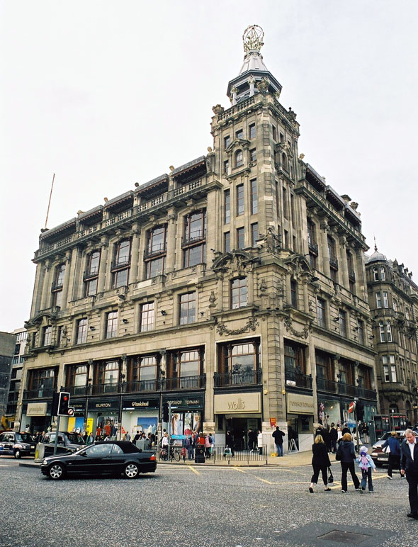 1907 &#8211; Burtons Department Store, Edinburgh