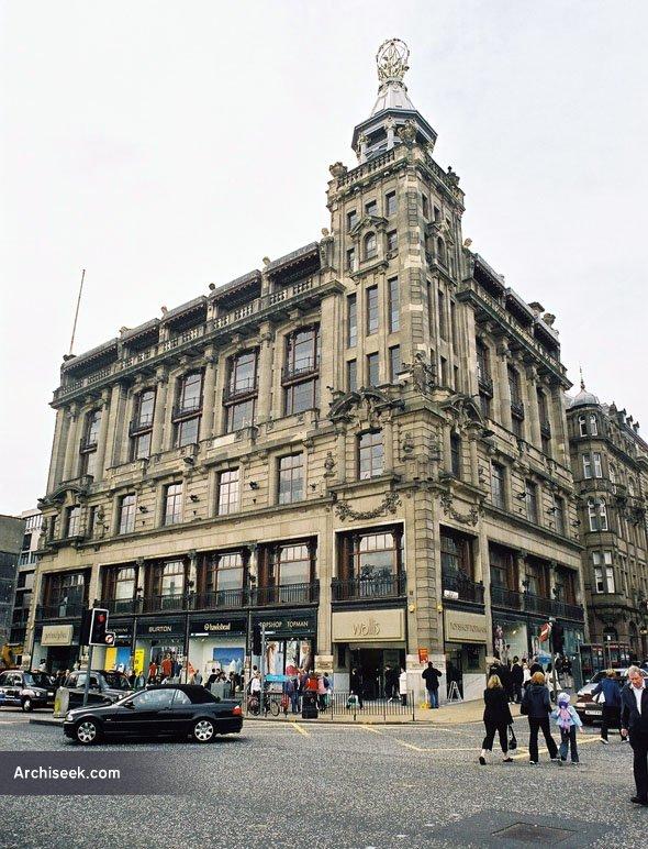 1907 – Burtons Department Store, Edinburgh