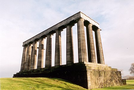 1829 – National Monument, Calton Hill, Edinburgh
