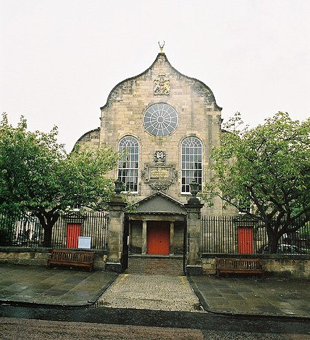 1688 &#8211; Canongate Kirk, Edinburgh