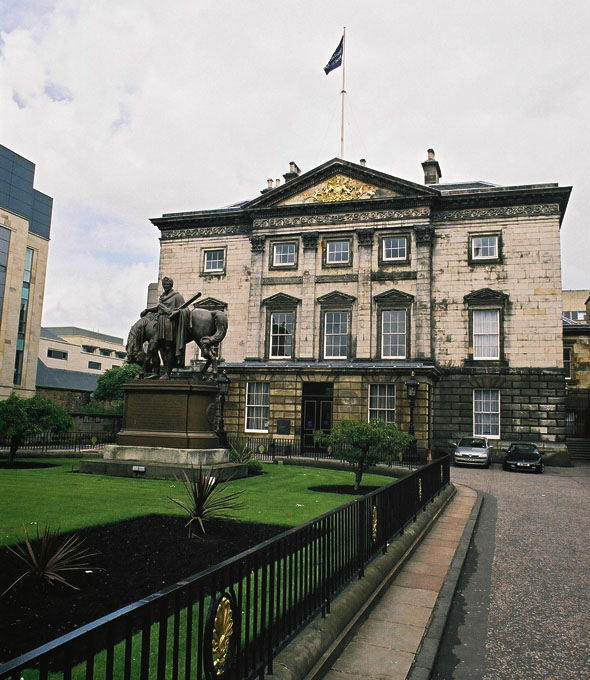 1771 &#8211; Dundas Mansion, St Andrew&#8217;s Square, Edinburgh