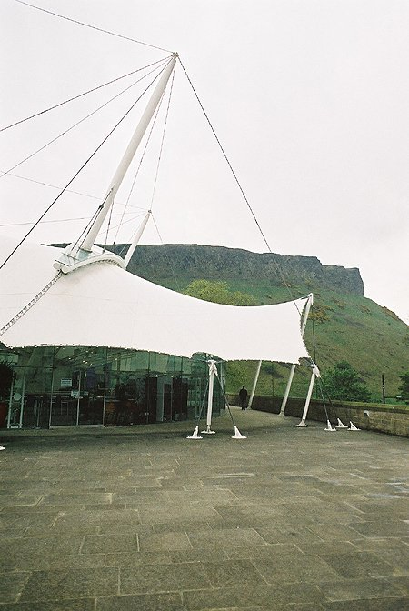 1999 – Dynamic Earth Centre, Edinburgh