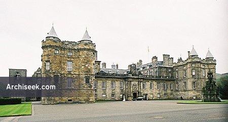 1690 – Holyrood Palace, Edinburgh