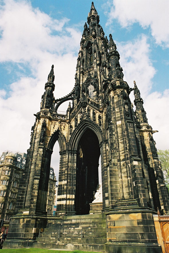 1846 &#8211; Scott Memorial, Edinburgh