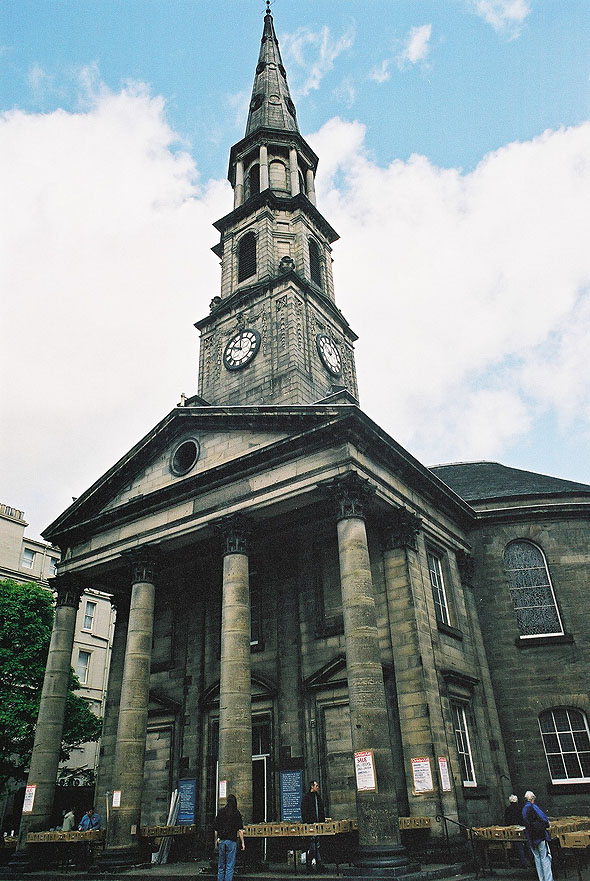 1784 &#8211; St Andrew&#8217;s &#038; St George&#8217;s Church, Edinburgh