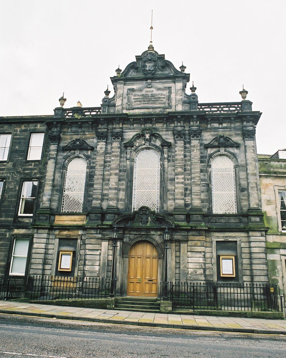 1835 – St Mark's Unitarian Church, Edinburgh