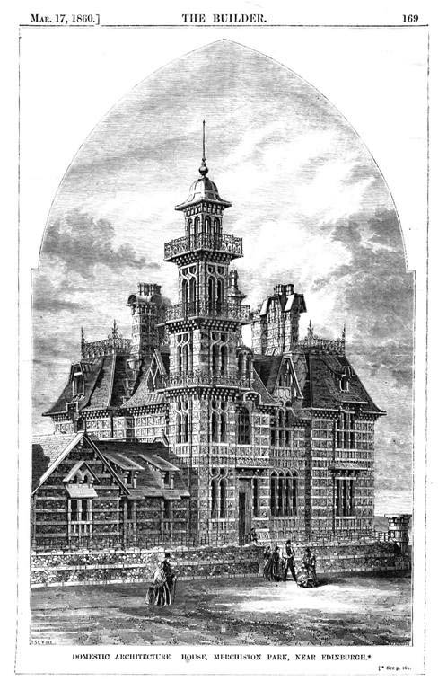 1860 – House at Murchiston Park, Edinburgh