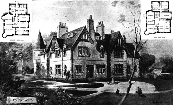 1900 &#8211; Larkfield House, Trinity, Edinburgh, Scotland