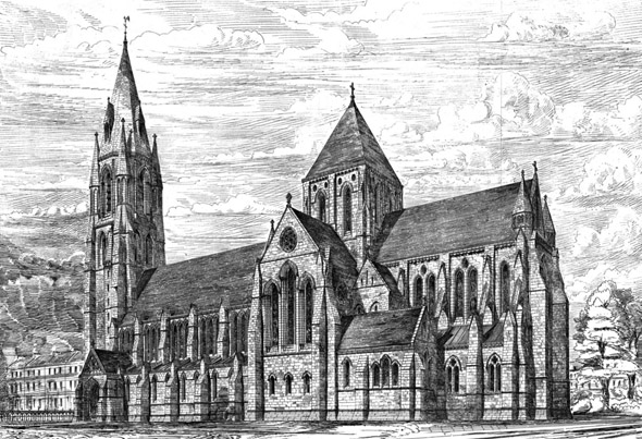 1873  Design for Edinburgh Cathedral