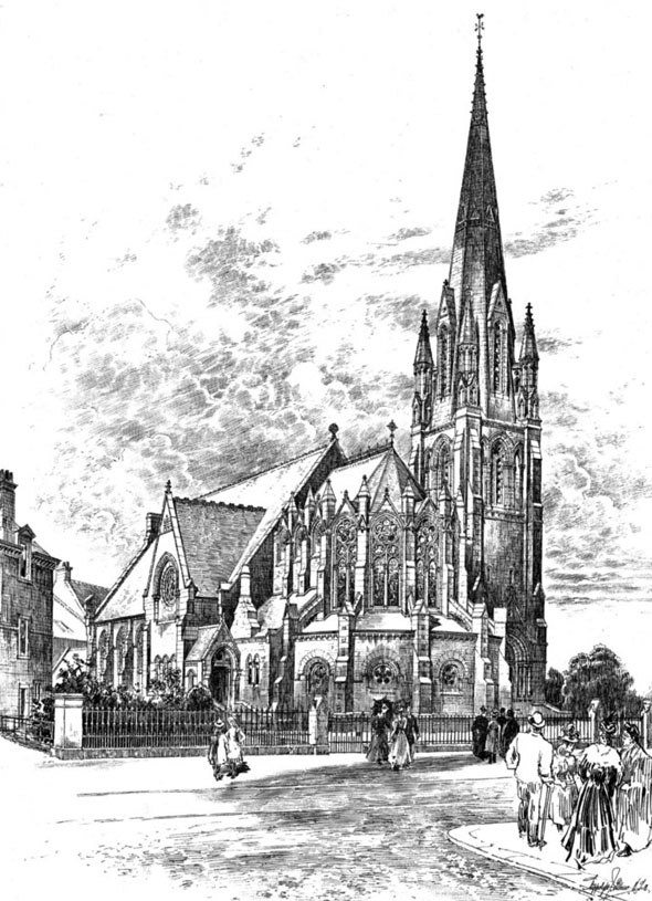1899 &#8211; Christ Church, Morningside, Edinburgh