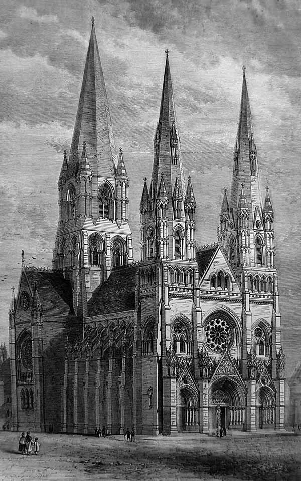 1872 – St. Mary's Cathedral, Edinburgh
