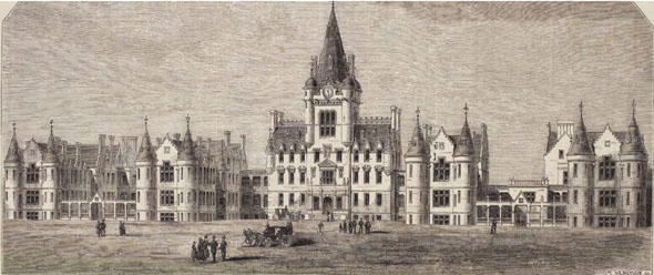 1879 &#8211; Royal Infirmary, Edinburgh, Scotland