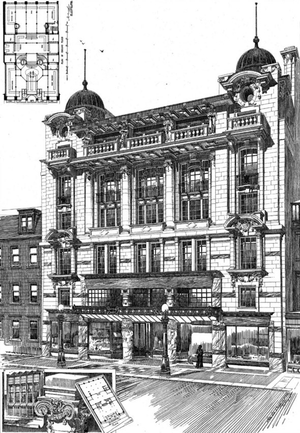 1905 – Civil Service Supply Assoc., George St., Edinburgh