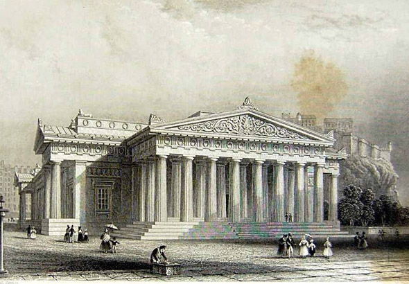 1826 &#8211; Royal Scottish Academy, Edinburgh, Scotland