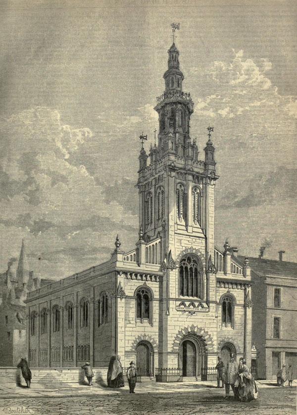 1861 – Congregational Church, George IV Bridge, Edinburgh