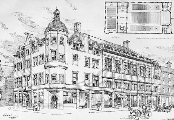 1901 – Wesleyan Mission Hall, Earl Grey St., Edinburgh