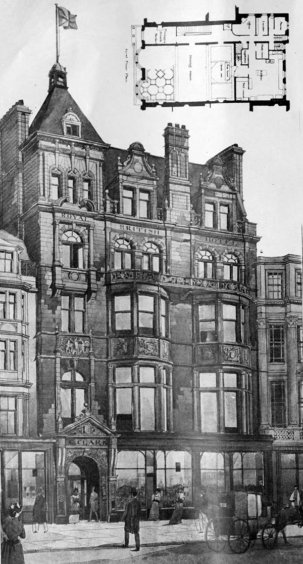 1899 – Royal British Hotel, Princes St., Edinburgh