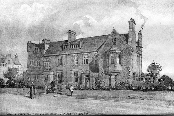 1898 – Boarding House, Edinburgh Academy