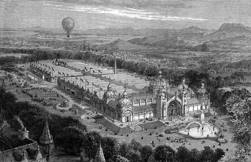 1886 – International Exhibition of Industry, Science and Art, Edinburgh
