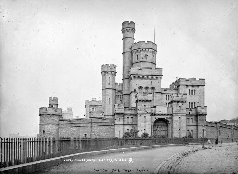 1881 – Calton Jail, Edinburgh