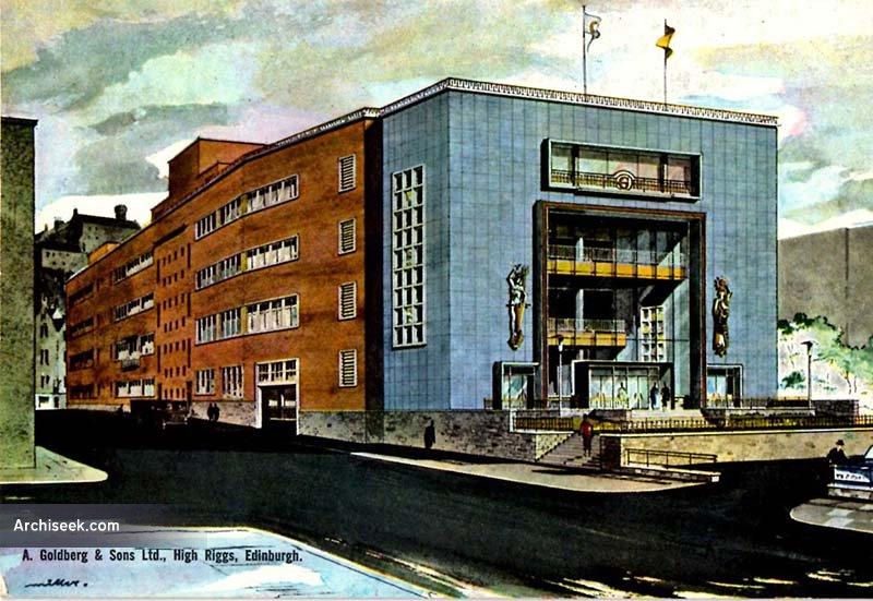 1960 – Goldberg's Department Store, Tollcross, Edinburgh