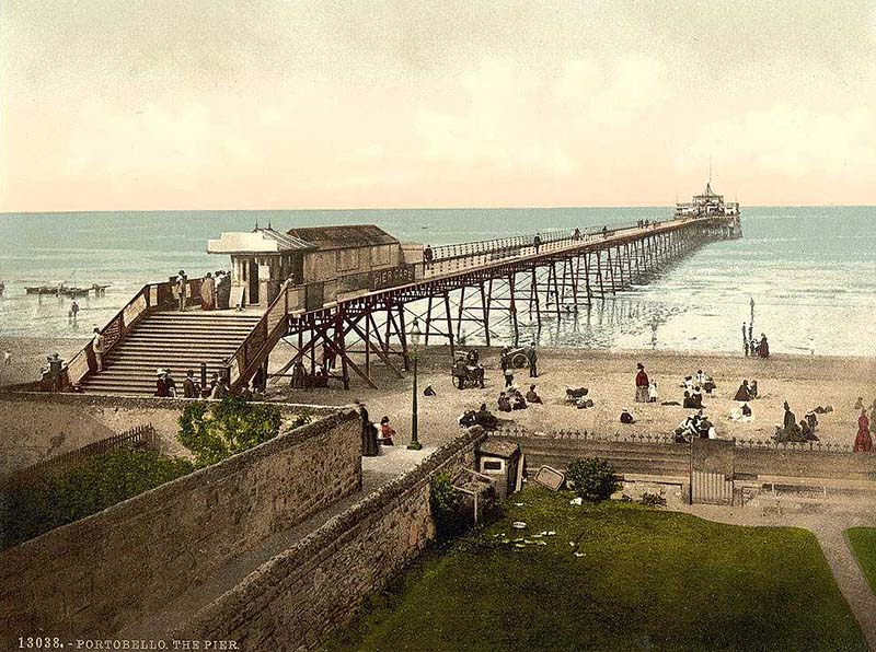 1871 – Seaside Pier, Portobello, Edinburgh