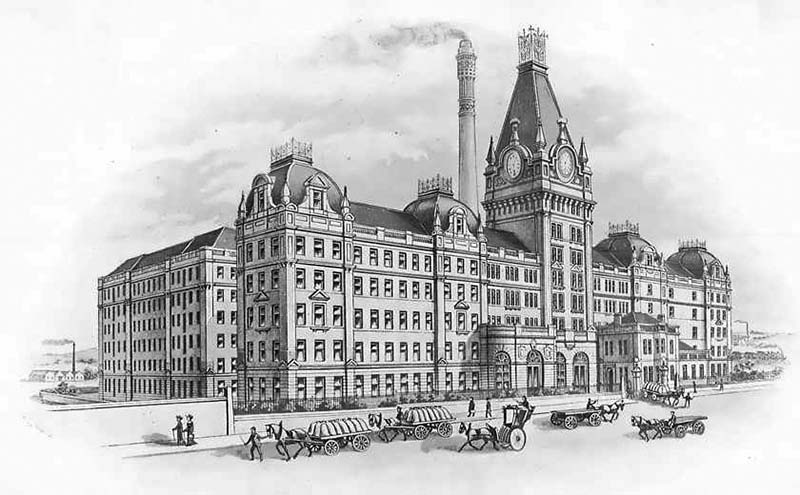 1894 – Chancelot Flour Mills, Edinburgh