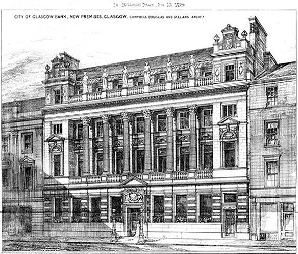 1879 – City Of Glasgow Bank, Glasgow