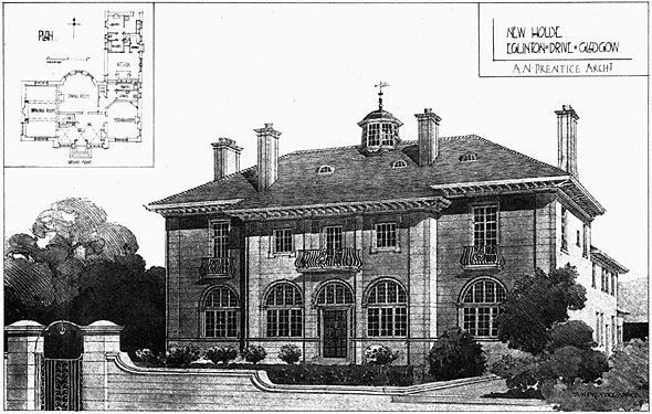 1906 – House, Eglinton Drive, Giffnock, Glasgow