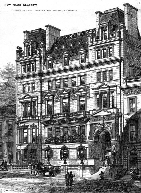 1880 – Club Buildings, Glasgow