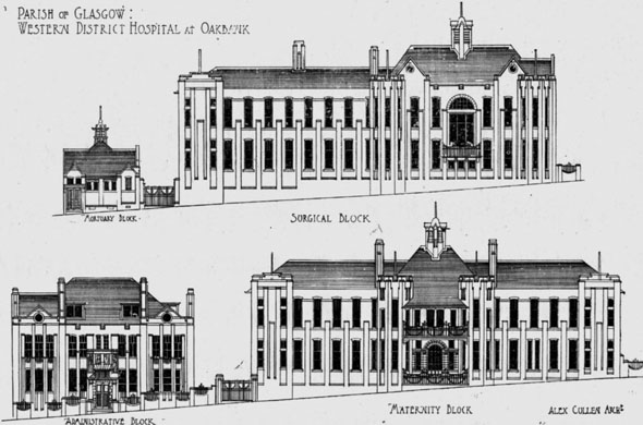 1903 – Western District Hospital at Oakbank, Glasgow