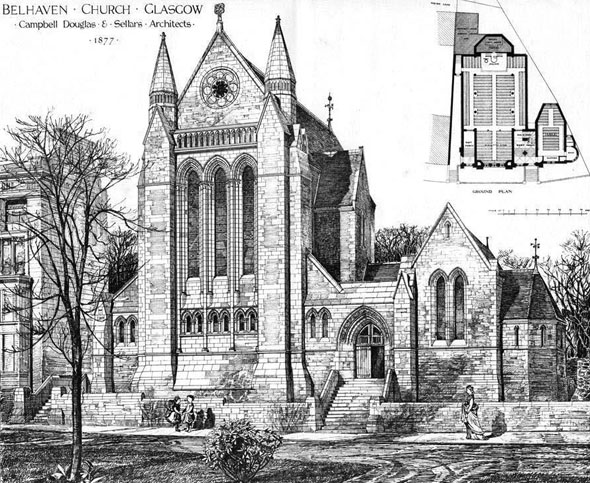 1878 &#8211;  Belhaven Church, Glasgow