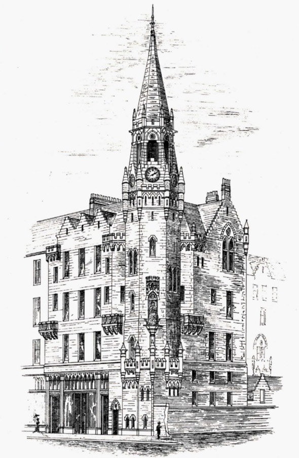 1881 – Glasgow Asylum for the Blind, Scotland