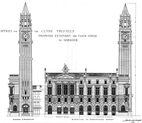 1888 – The Clyde Trust Building, Glasgow, Scotland