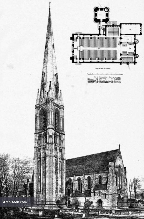 1888 – New Parish Church, Govan, Glasgow, Scotland