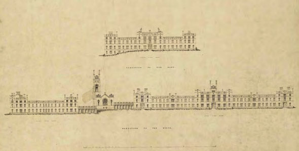 1843 – Glasgow  Royal Asylum, Gartnavel, Scotland