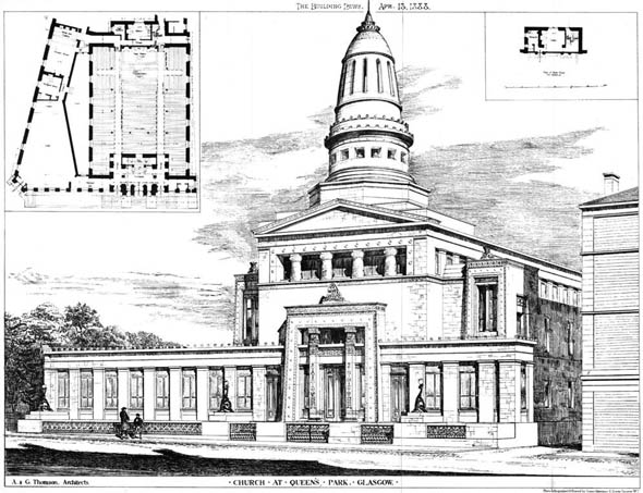 1869 – United Presbyterian Church, Queens Park, Glasgow