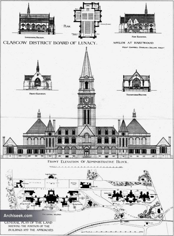 1890 – Hartwood Asylum, Glasgow, Scotland