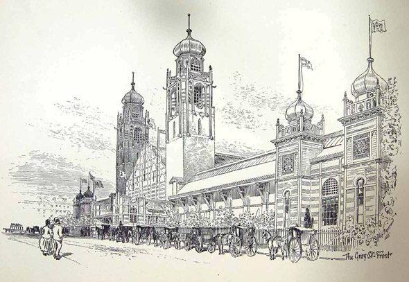 1888 –  International Exhibition of Science, Art and Industry, Glasgow