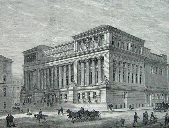 1877 &#8211; St. Andrew&#8217;s Halls, Glasgow, Scotland