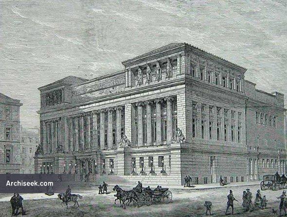 1877 – St. Andrew's Halls, Glasgow, Scotland