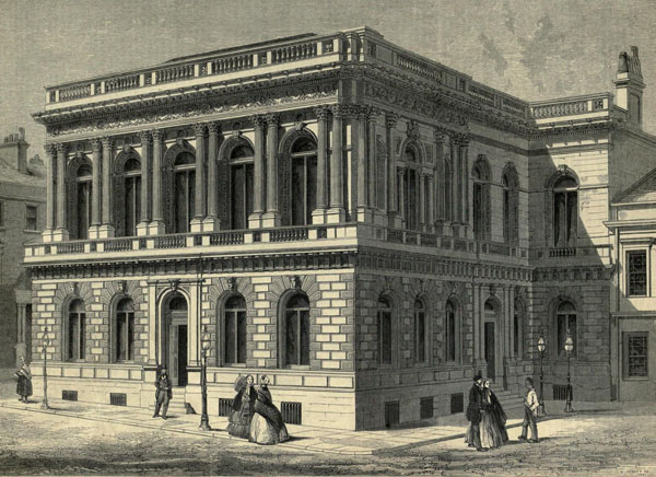 1855 &#8211; Royal Faculty of Procurators&#8217; Hall, Glasgow