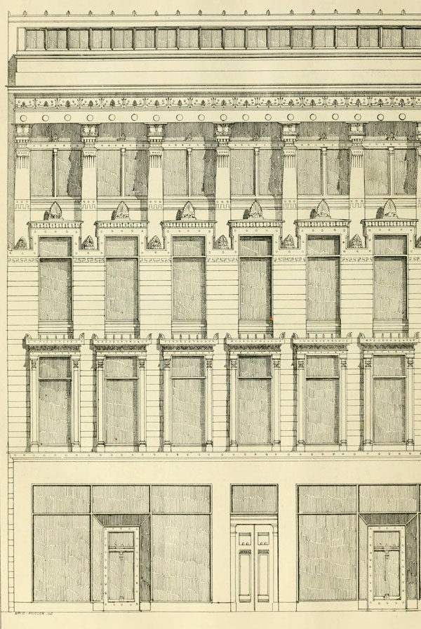 1860 – Warehouse, Bath St., Glasgow