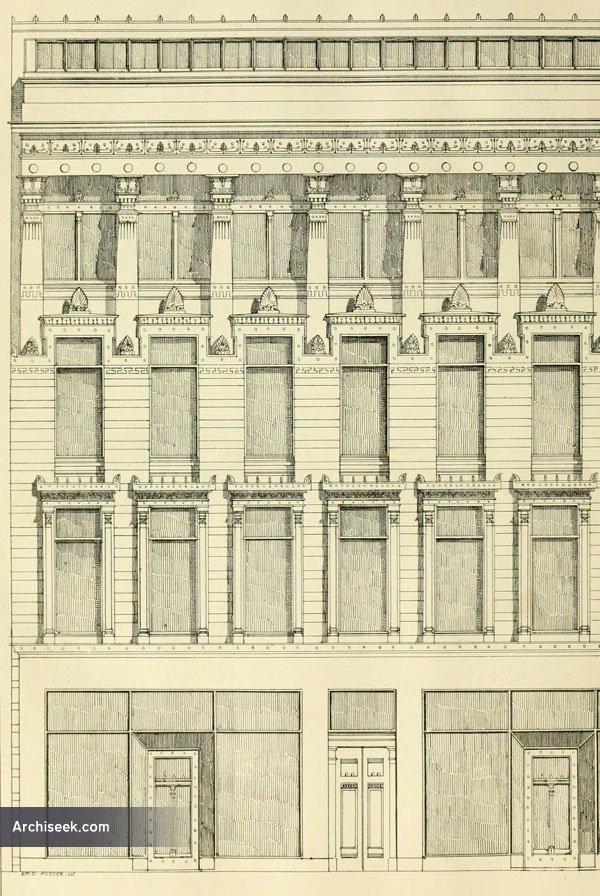 1860 – Warehouse, Bath St., Glasgow