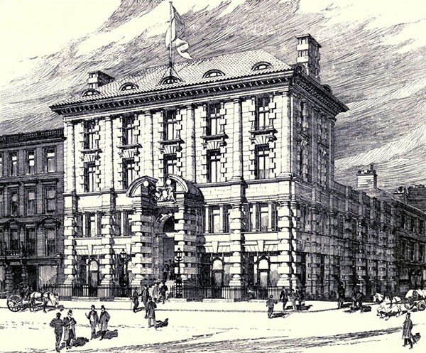 1896 – Corn Exchange, Glasgow, Scotland