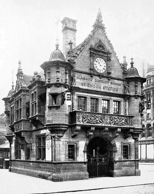1896 – St. Enoch Subway Station, Glasgow