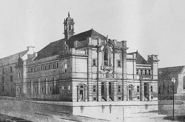 1898 – Designs for Springburn Hall, Glasgow